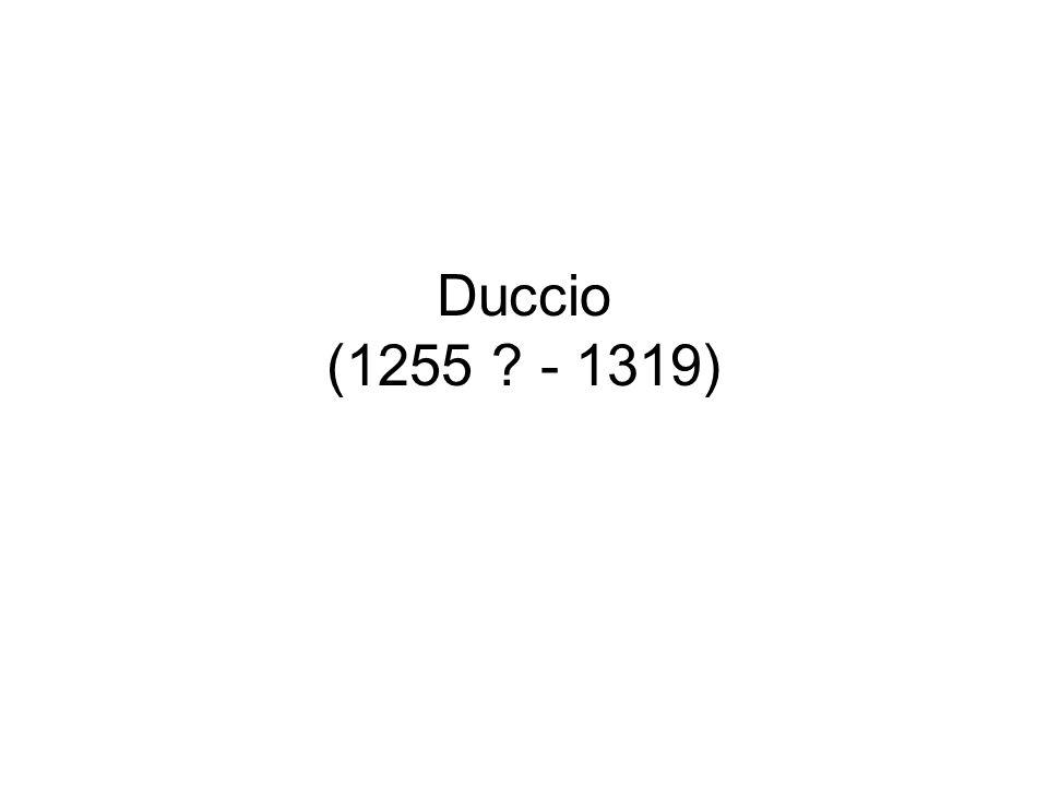 Duccio (1255 - 1319)