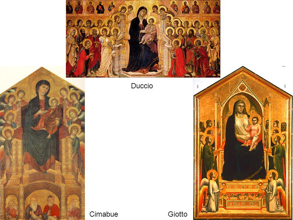 Duccio Cimabue Giotto
