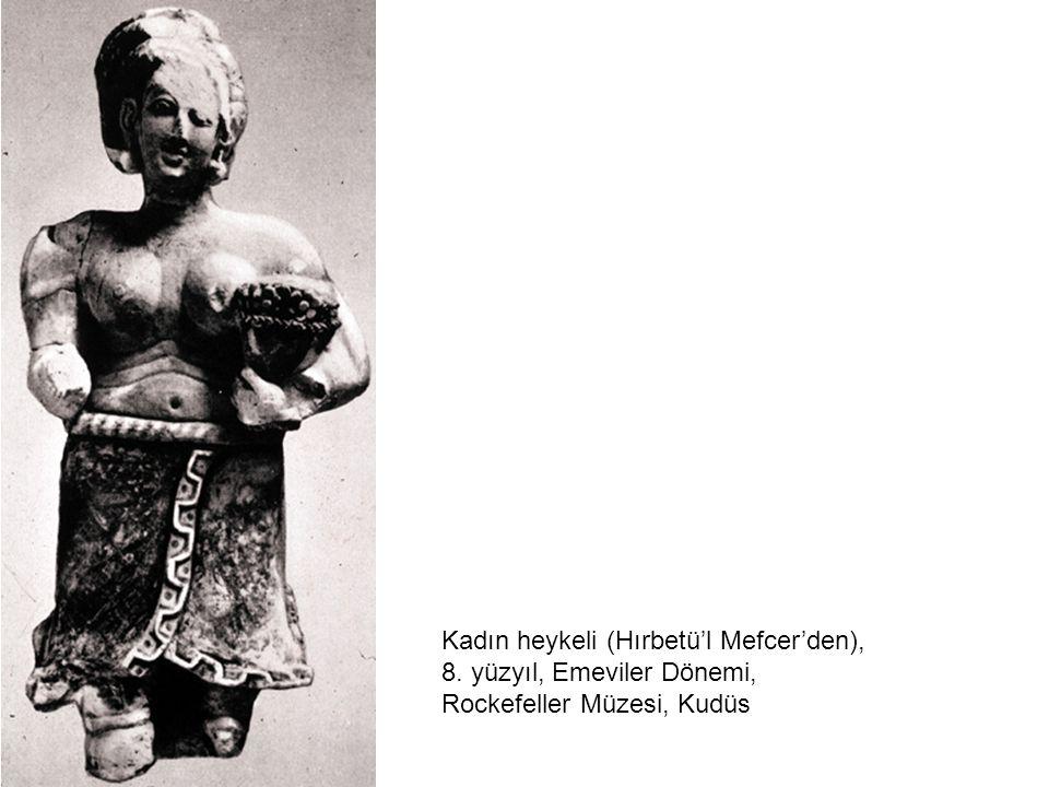 Kadın heykeli (Hırbetü'l Mefcer'den),