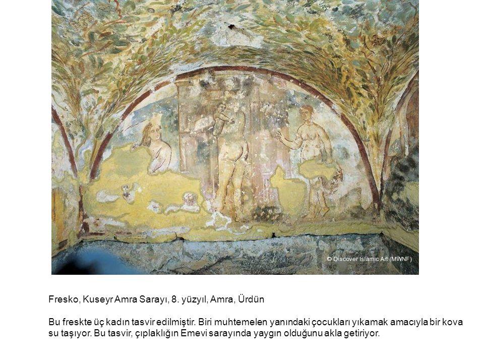 Fresko, Kuseyr Amra Sarayı, 8. yüzyıl, Amra, Ürdün