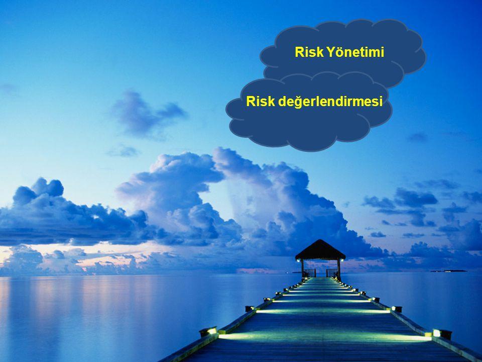 Risk Yönetimi Risk değerlendirmesi
