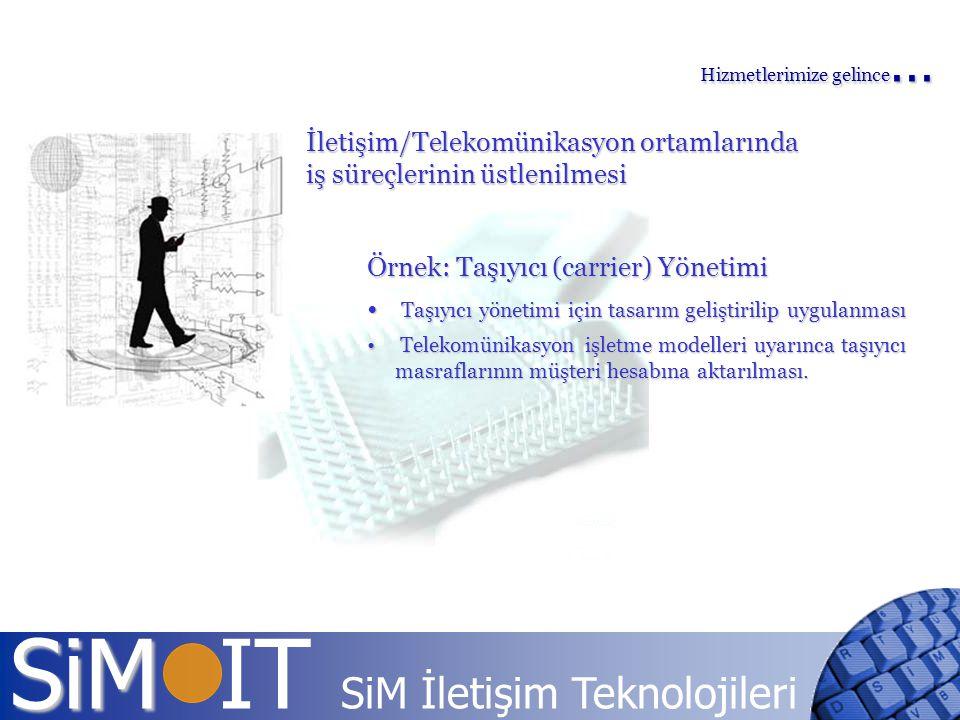 İletişim/Telekomünikasyon ortamlarında iş süreçlerinin üstlenilmesi