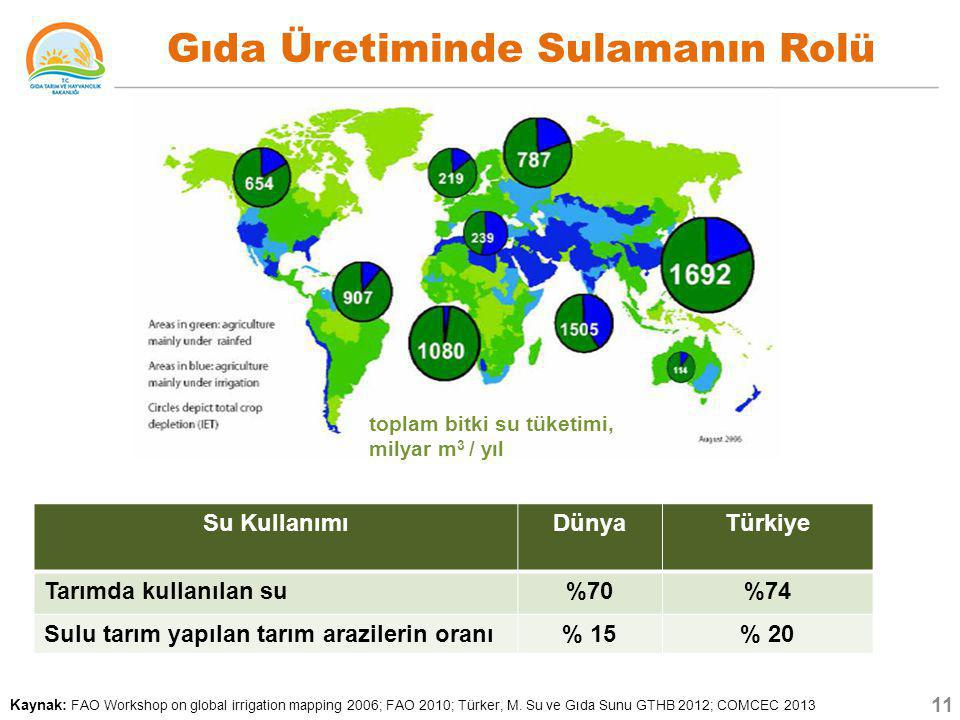 Gıda Üretiminde Sulamanın Rolü