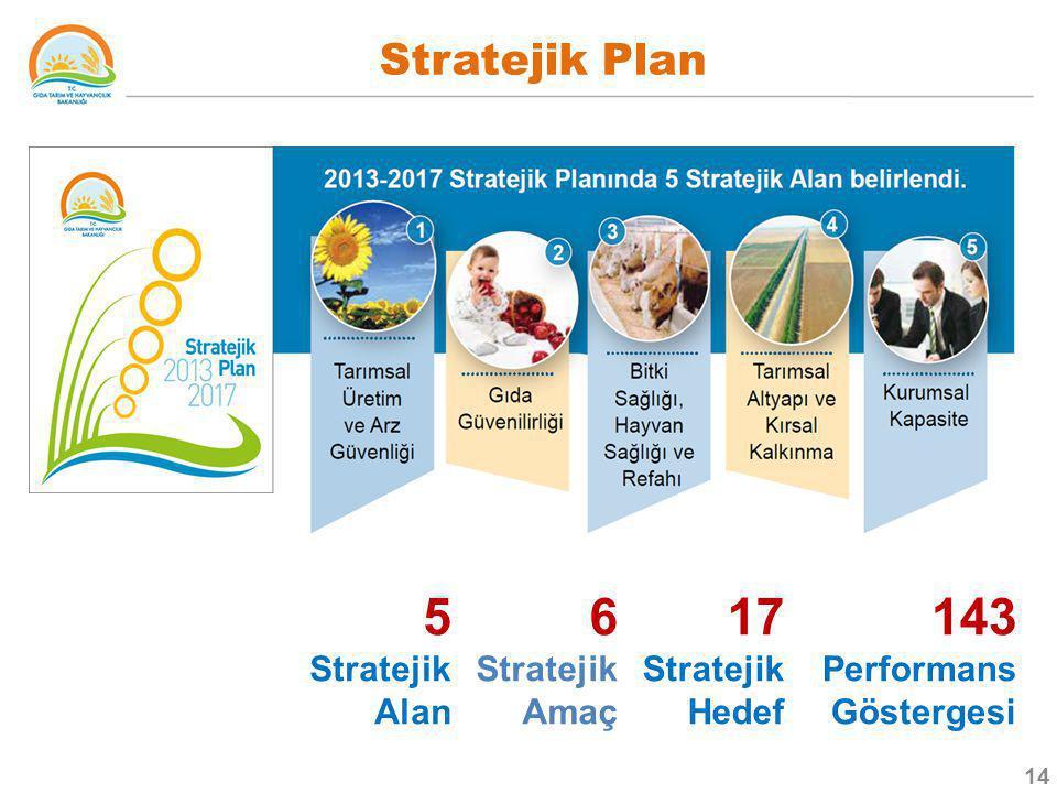 5 Stratejik Alan 6 17 StratejikHedef 143 Stratejik Plan Stratejik Amaç