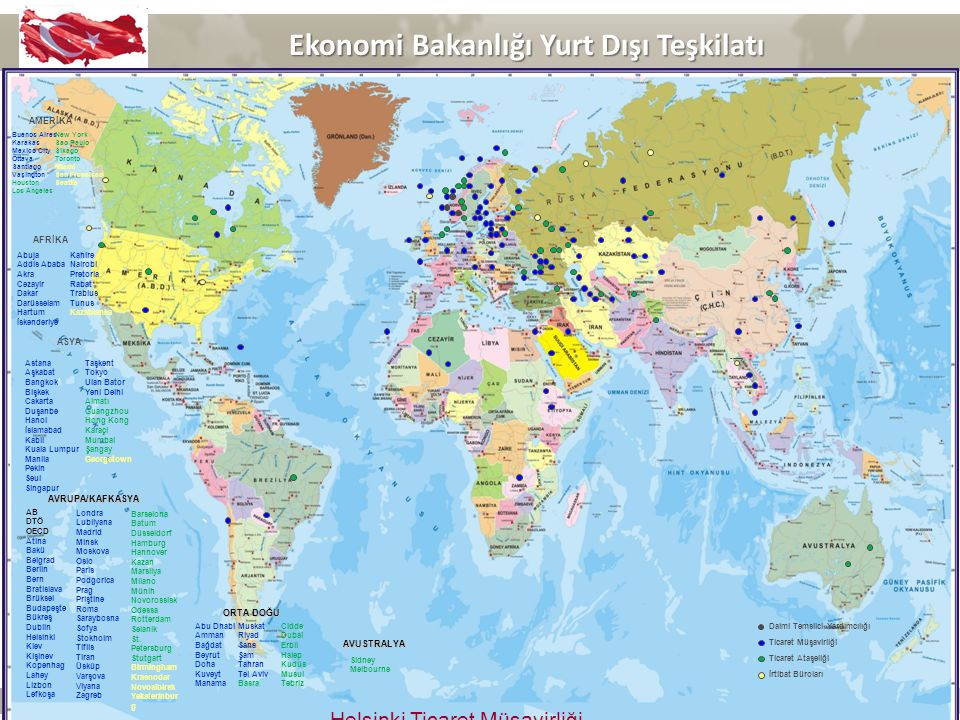 Ekonomi Bakanlığı Yurt Dışı Teşkilatı