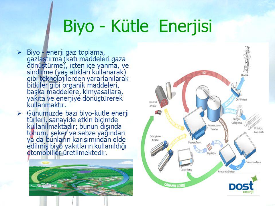 Biyo - Kütle Enerjisi