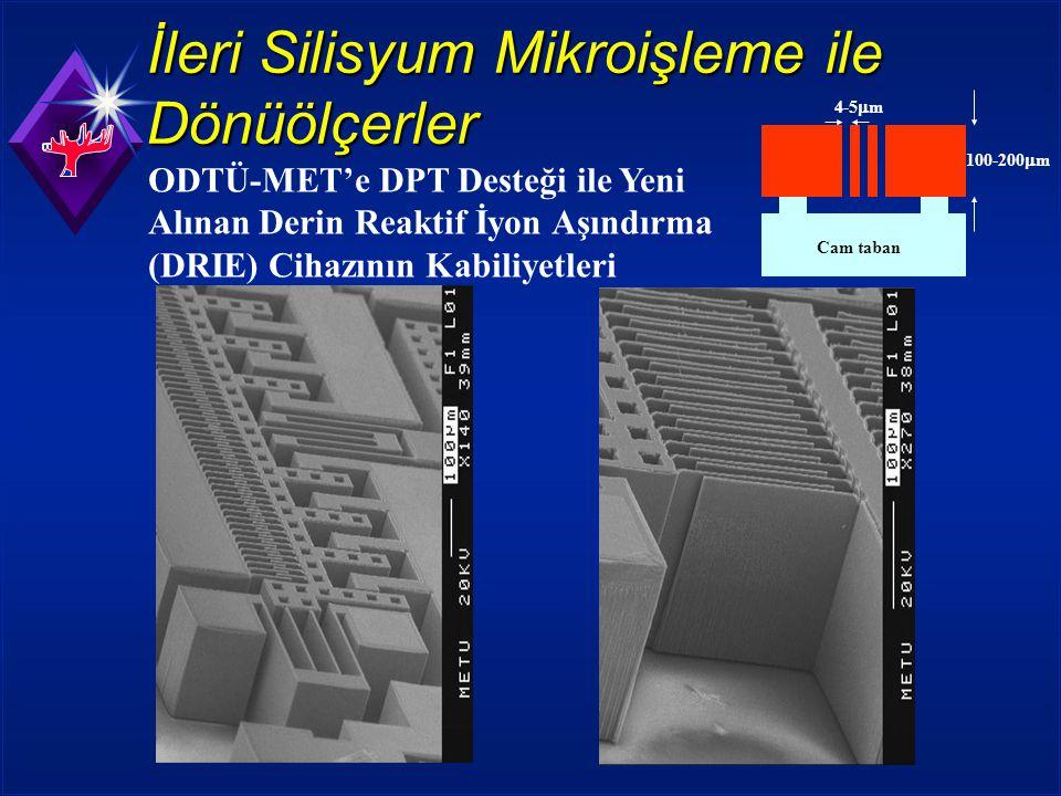 İleri Silisyum Mikroişleme ile Dönüölçerler