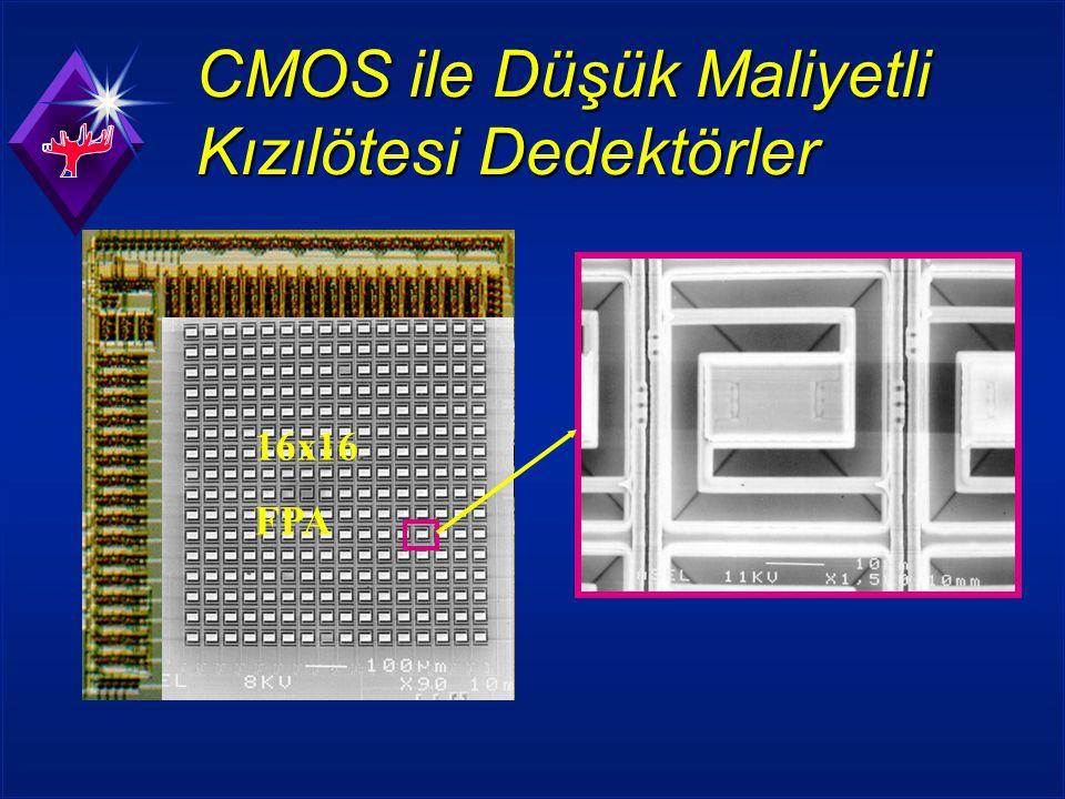 CMOS ile Düşük Maliyetli Kızılötesi Dedektörler