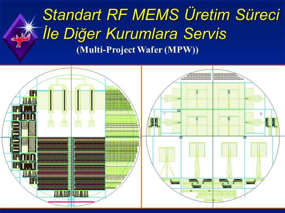 Standart RF MEMS Üretim Süreci İle Diğer Kurumlara Servis