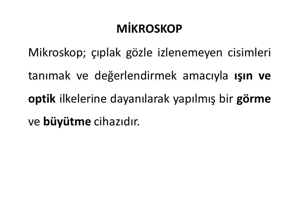MİKROSKOP