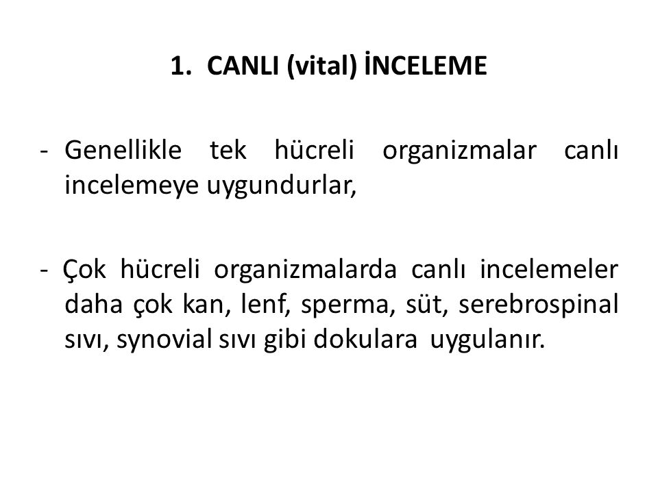 CANLI (vital) İNCELEME