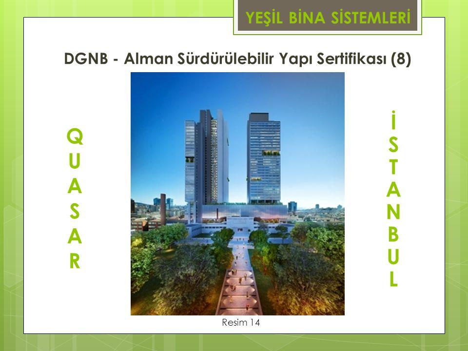 DGNB - Alman Sürdürülebilir Yapı Sertifikası (8)