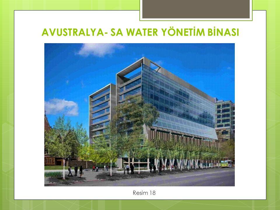 AVUSTRALYA- SA WATER YÖNETİM BİNASI
