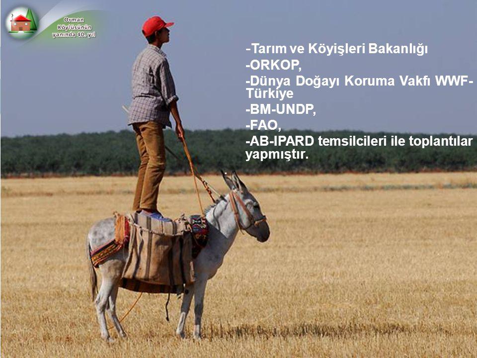 -Tarım ve Köyişleri Bakanlığı -ORKOP,