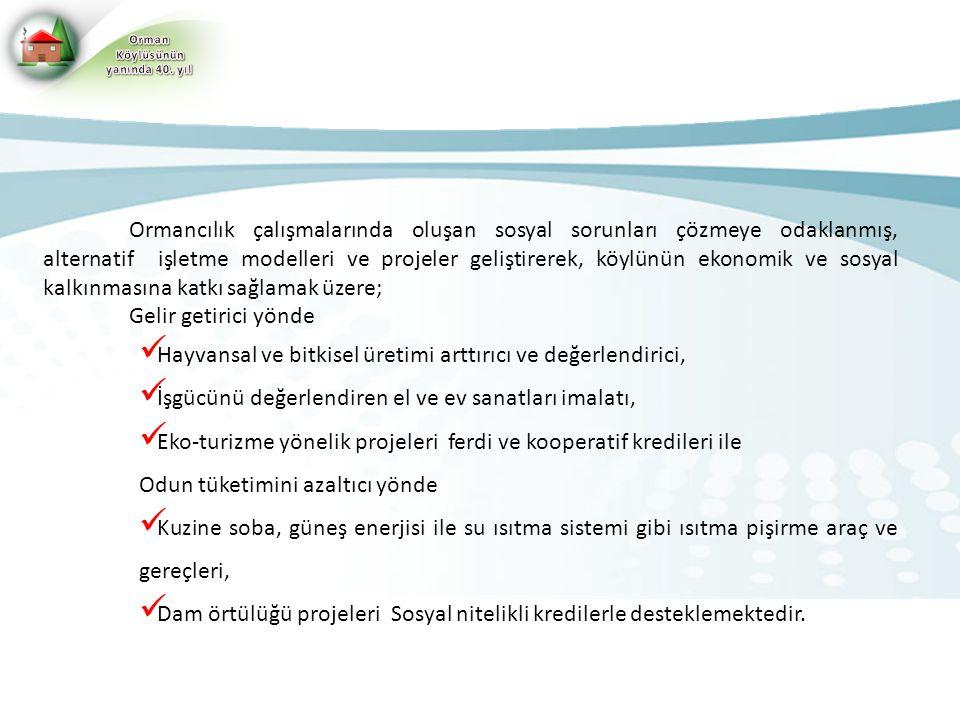 Hayvansal ve bitkisel üretimi arttırıcı ve değerlendirici,