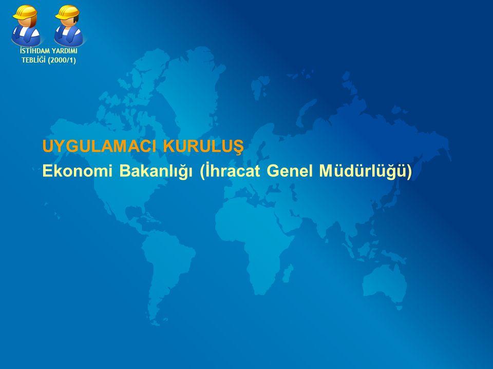 Ekonomi Bakanlığı (İhracat Genel Müdürlüğü)