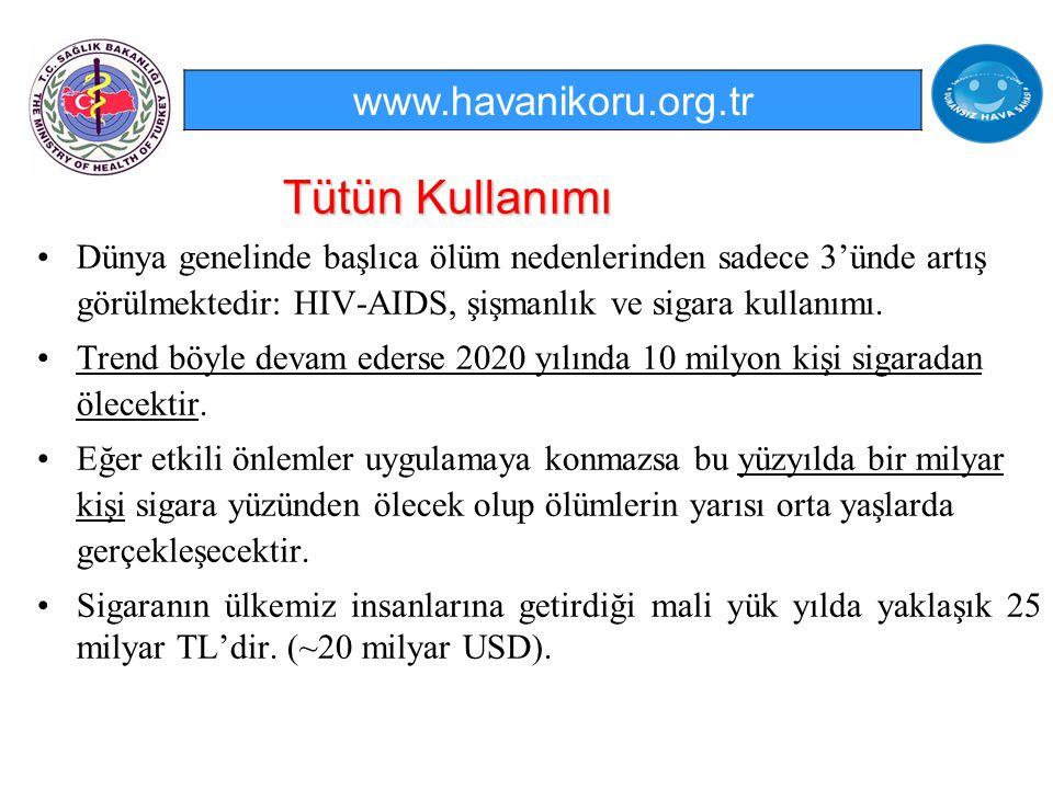 Tütün Kullanımı www.havanikoru.org.tr