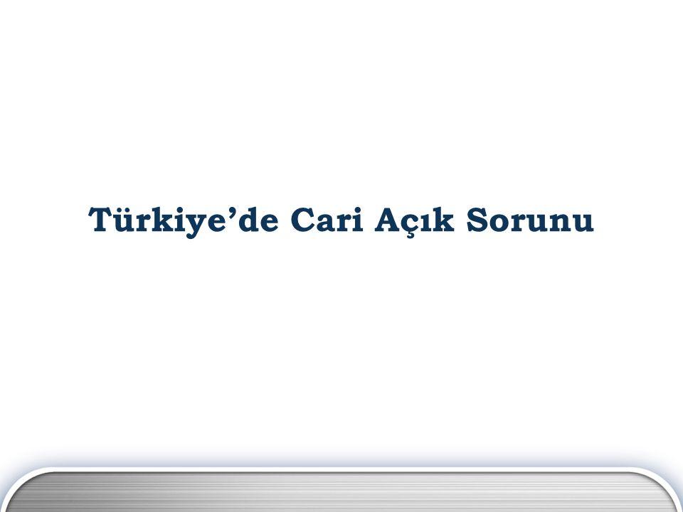 Türkiye'de Cari Açık Sorunu