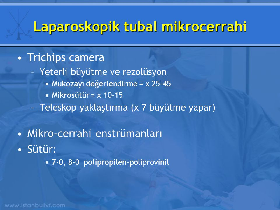 Laparoskopik tubal mikrocerrahi