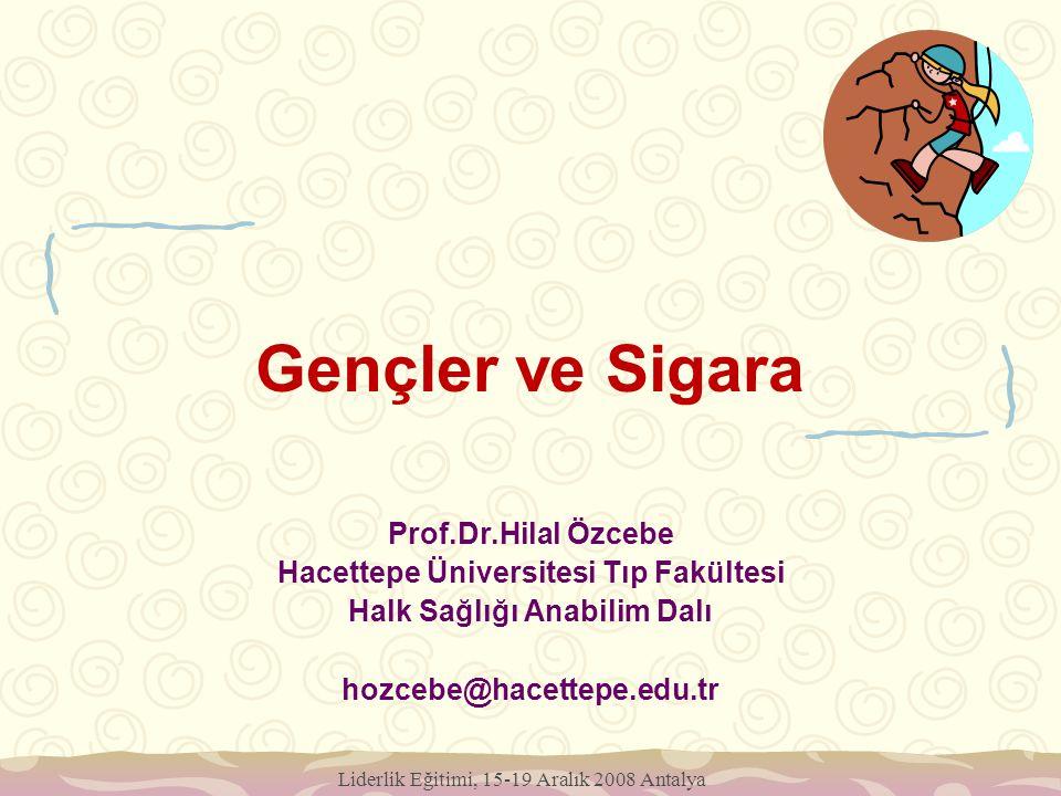 Hacettepe Üniversitesi Tıp Fakültesi Halk Sağlığı Anabilim Dalı