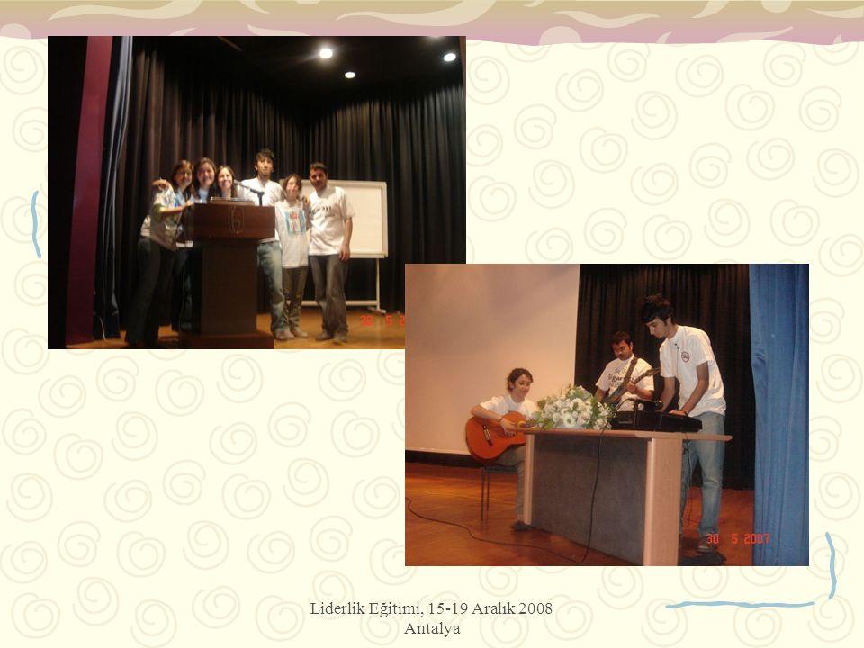 Liderlik Eğitimi, 15-19 Aralık 2008 Antalya