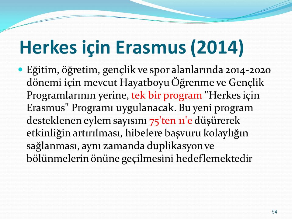 Herkes için Erasmus (2014)