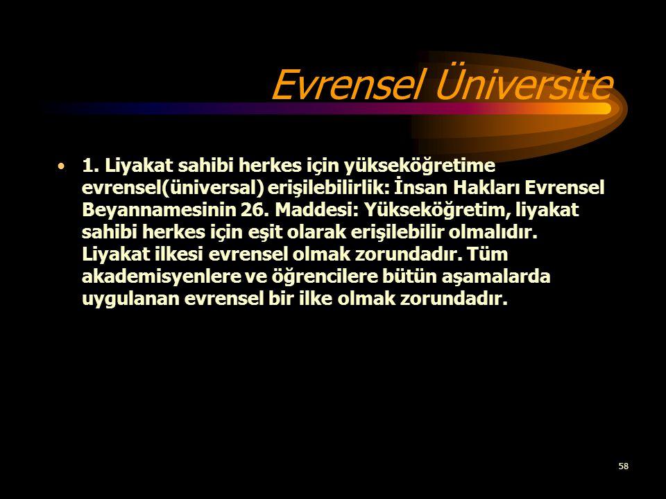 Evrensel Üniversite