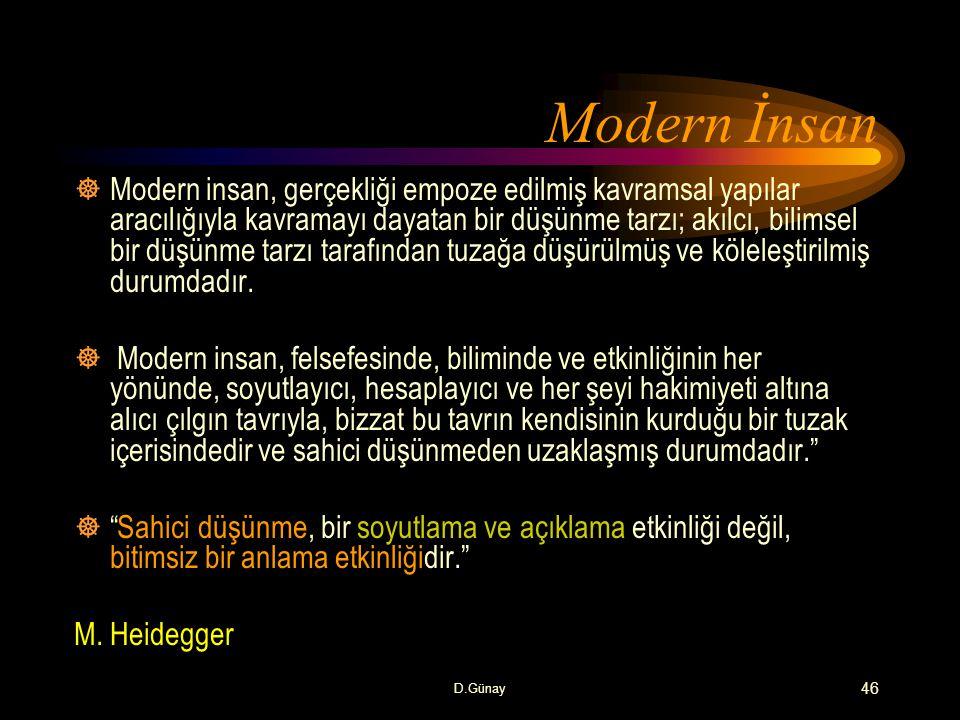 Modern İnsan