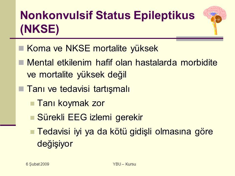 Nonkonvulsif Status Epileptikus (NKSE)