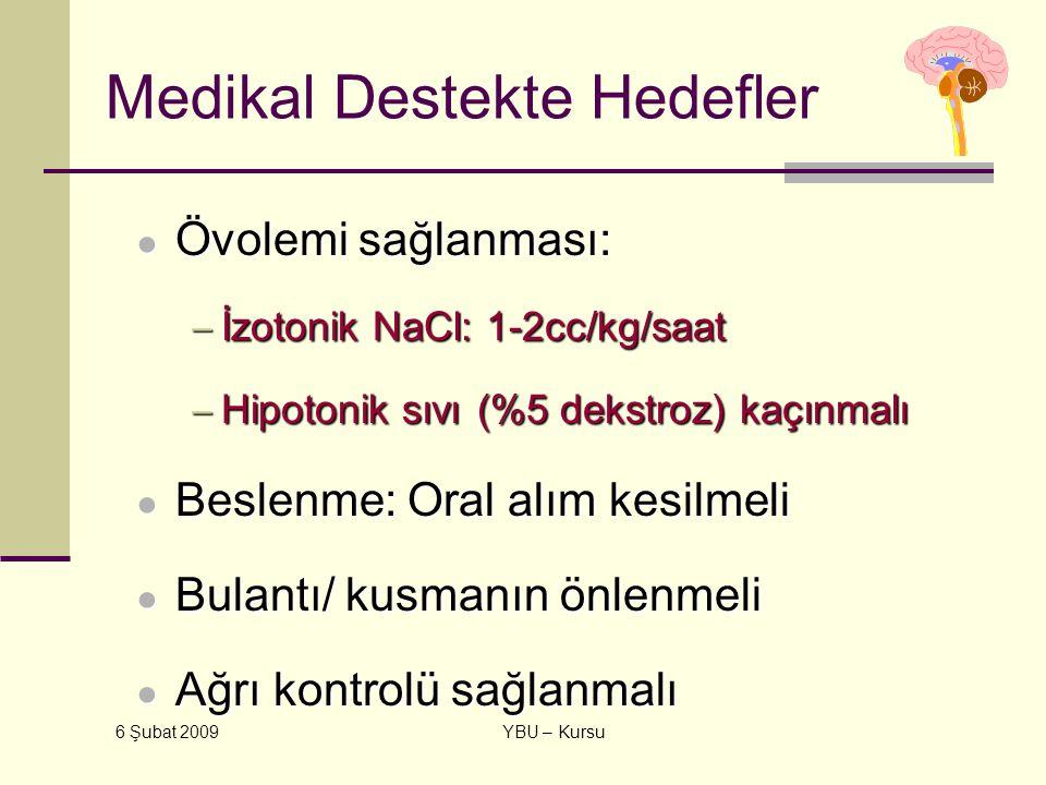 Medikal Destekte Hedefler