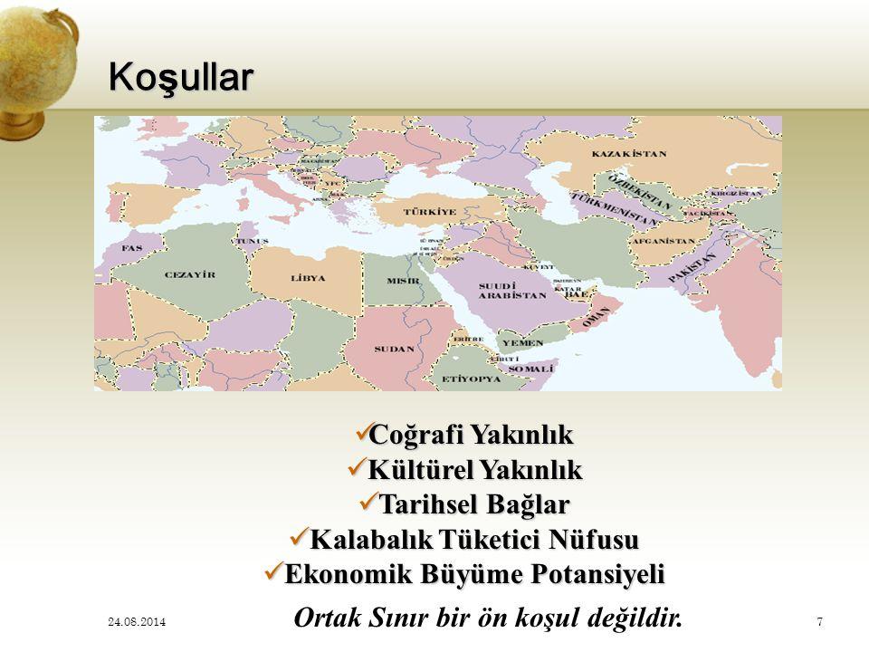 Koşullar Coğrafi Yakınlık Kültürel Yakınlık Tarihsel Bağlar