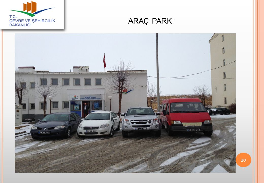 araç parkı