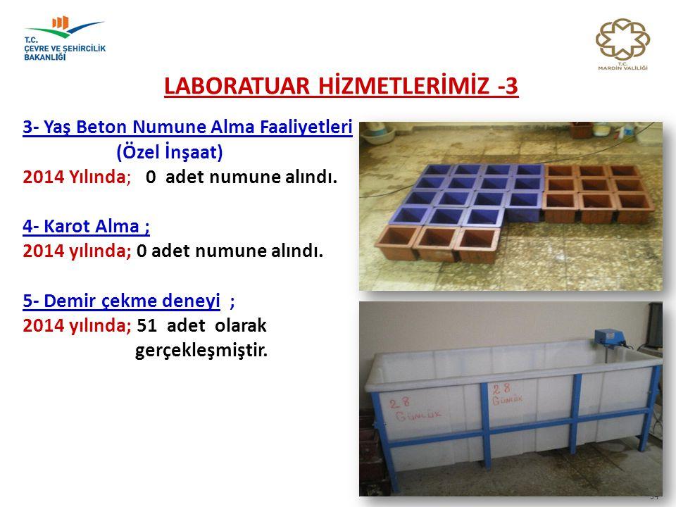 LABORATUAR HİZMETLERİMİZ -3
