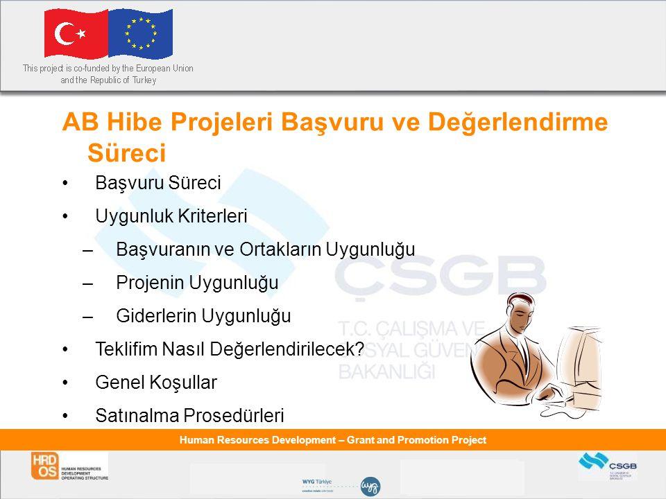 AB Hibe Projeleri Başvuru ve Değerlendirme Süreci