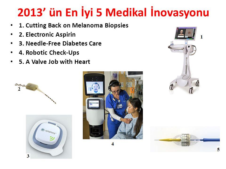2013' ün En İyi 5 Medikal İnovasyonu