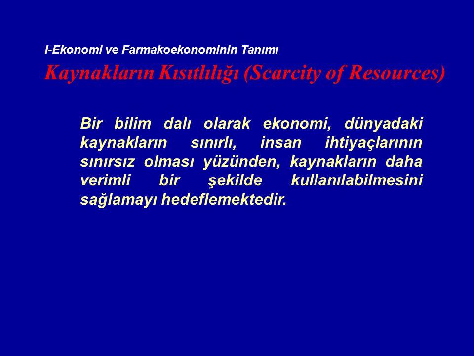 Kaynakların Kısıtlılığı (Scarcity of Resources)