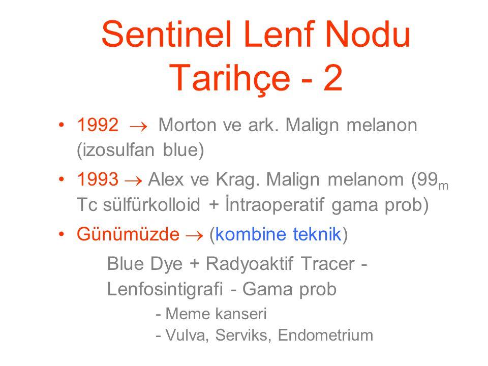 Sentinel Lenf Nodu Tarihçe - 2