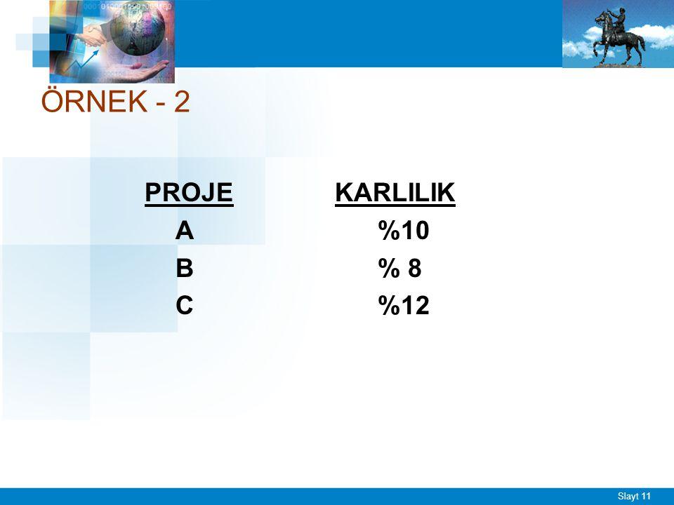 ÖRNEK - 3 X A.Ş. 12.800 TL'ye aldığı yeni üretim