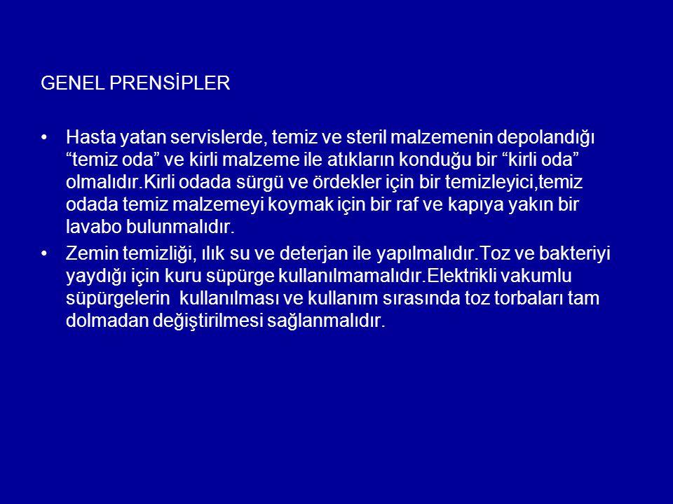 GENEL PRENSİPLER