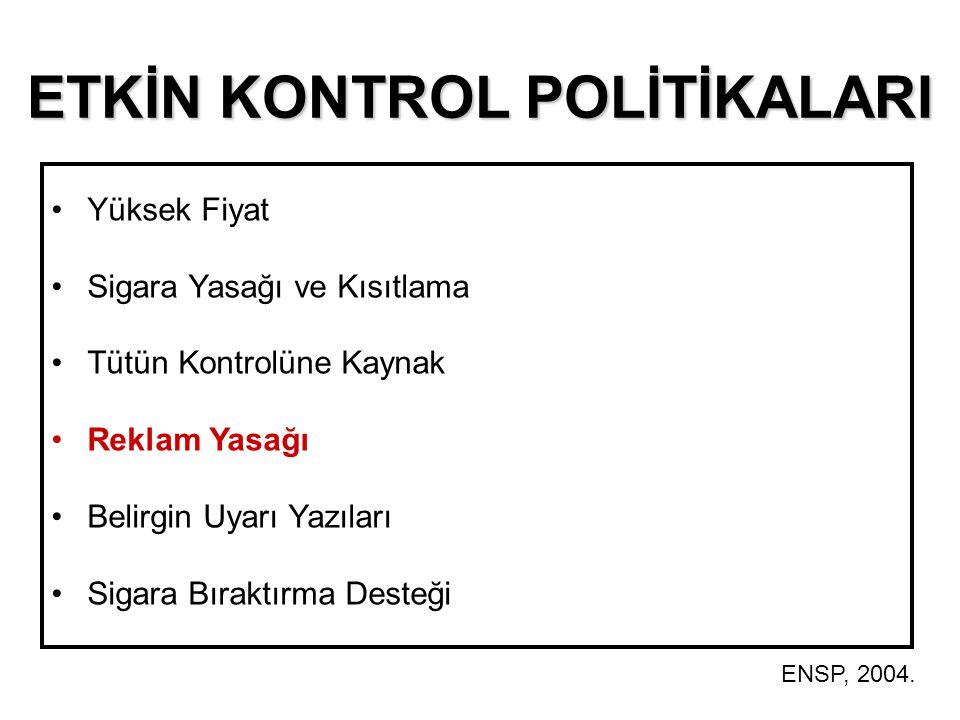 ETKİN KONTROL POLİTİKALARI