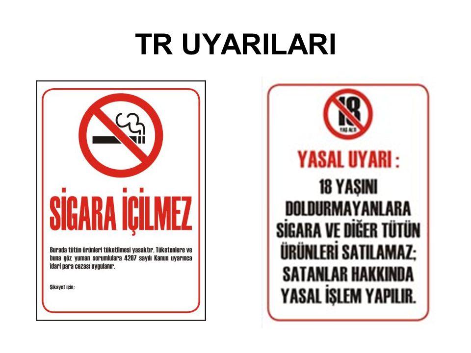 TR UYARILARI
