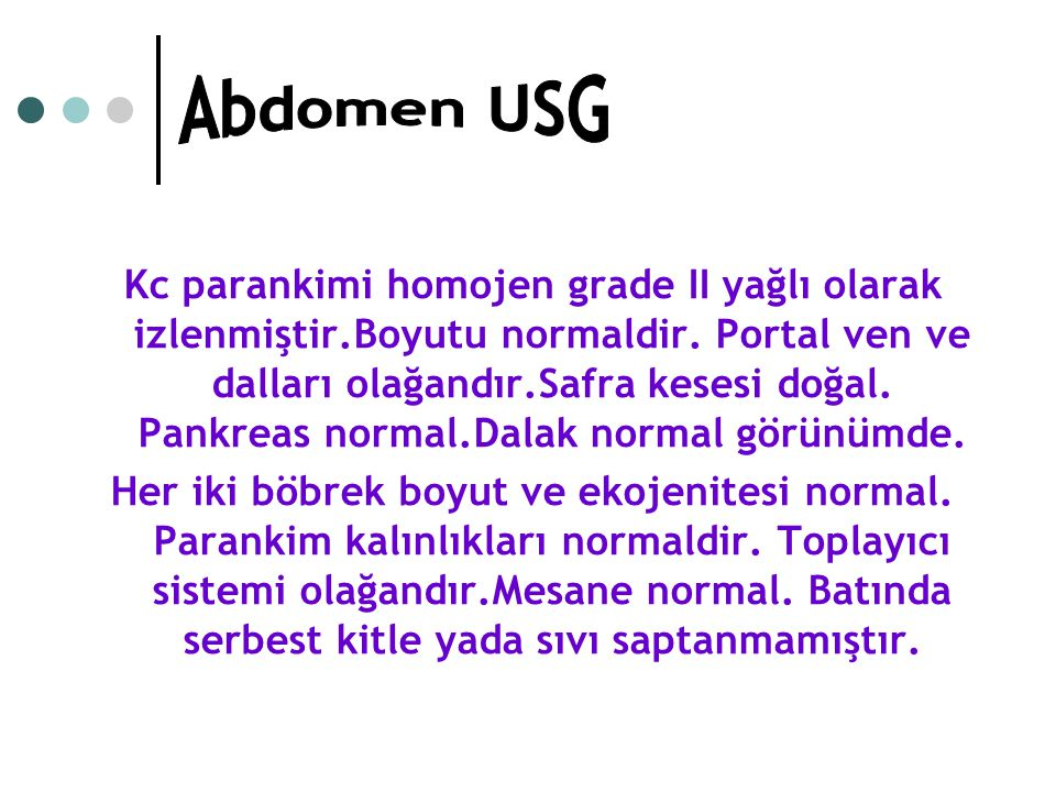 Abdomen USG
