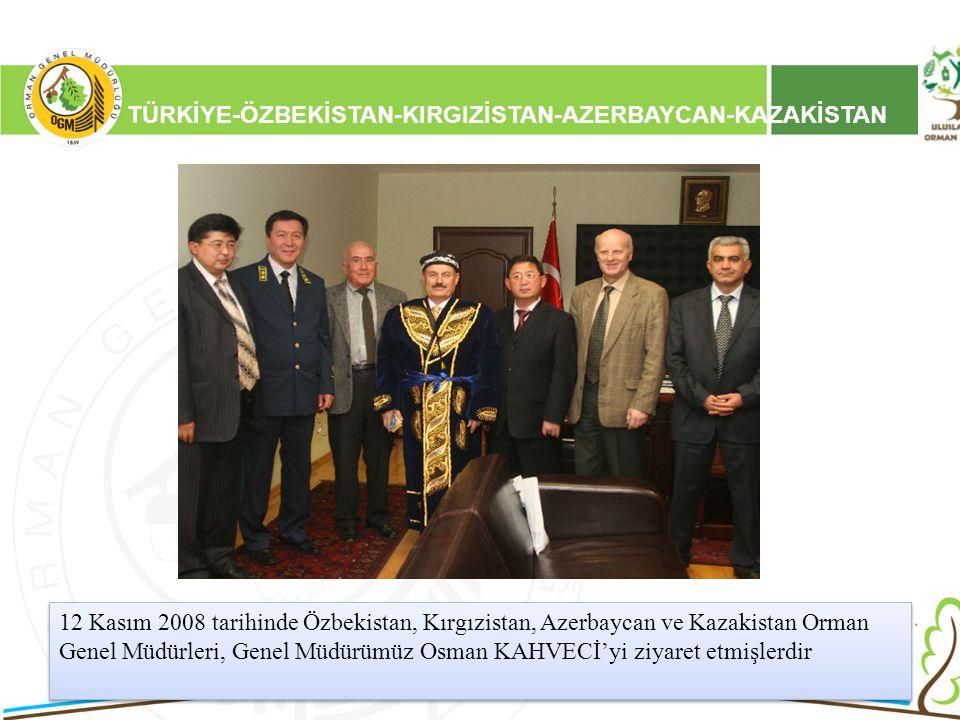 TÜRKİYE-ÖZBEKİSTAN-KIRGIZİSTAN-AZERBAYCAN-KAZAKİSTAN
