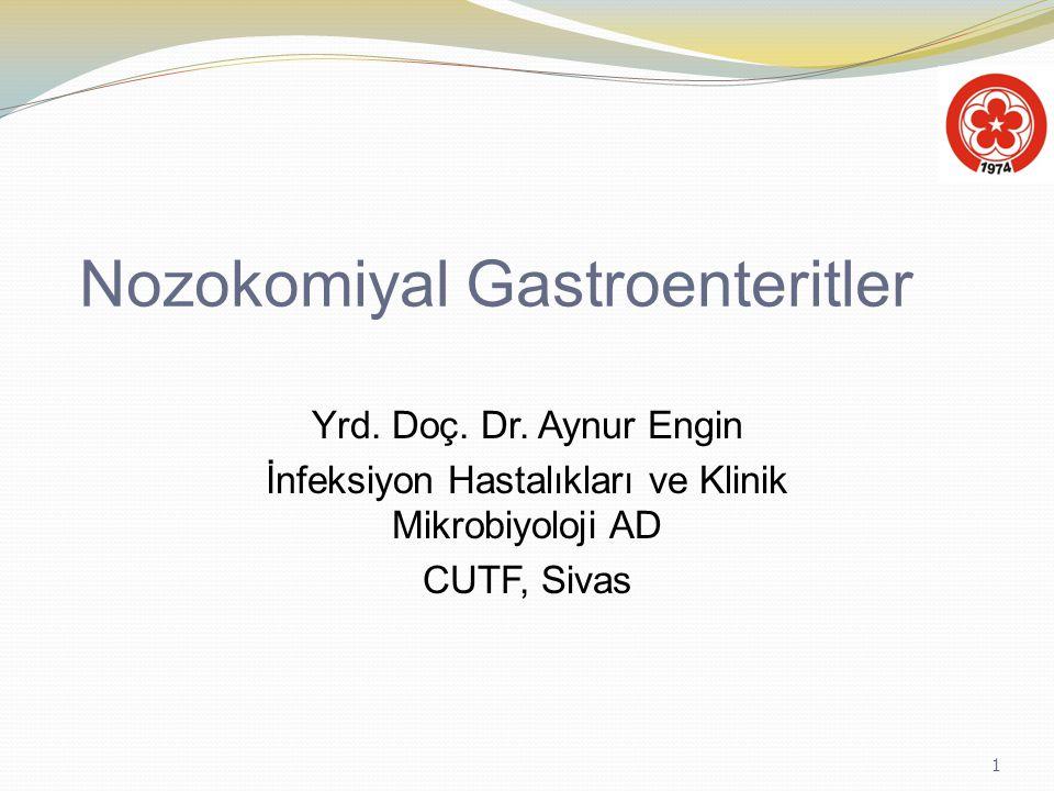 Nozokomiyal Gastroenteritler