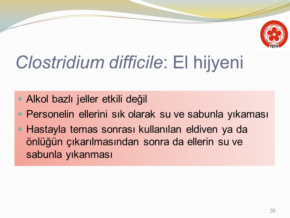 Clostridium difficile: El hijyeni