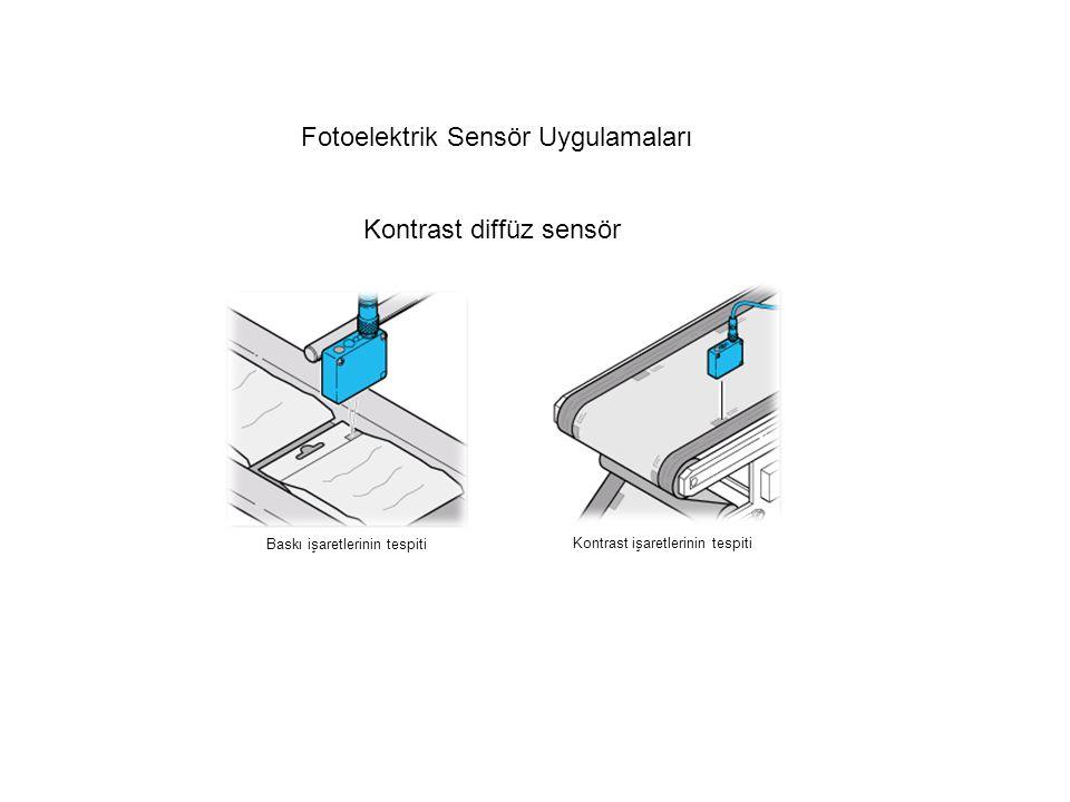 Fotoelektrik Sensör Uygulamaları