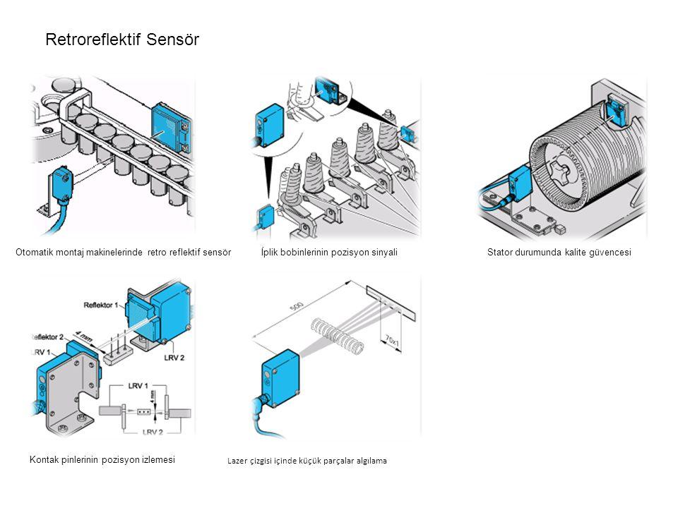 Retroreflektif Sensör