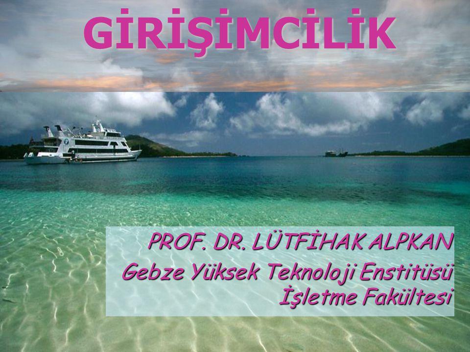 PROF. DR. LÜTFİHAK ALPKAN