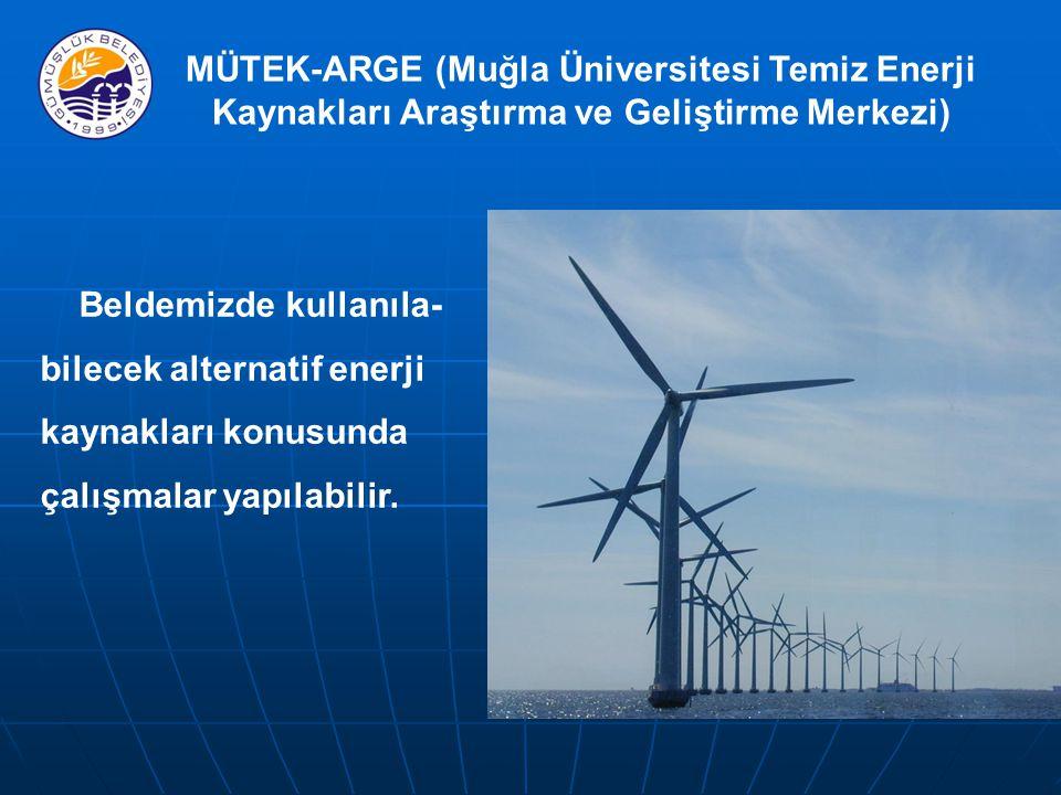 MÜTEK-ARGE (Muğla Üniversitesi Temiz Enerji