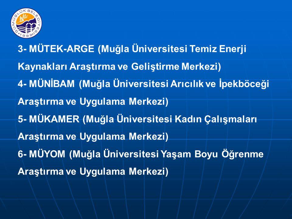 3- MÜTEK-ARGE (Muğla Üniversitesi Temiz Enerji